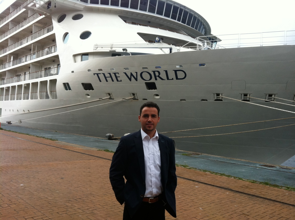 The World, the biggests yatch
