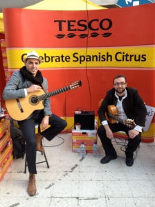 spanish citrus, tesco, corporate entertainment