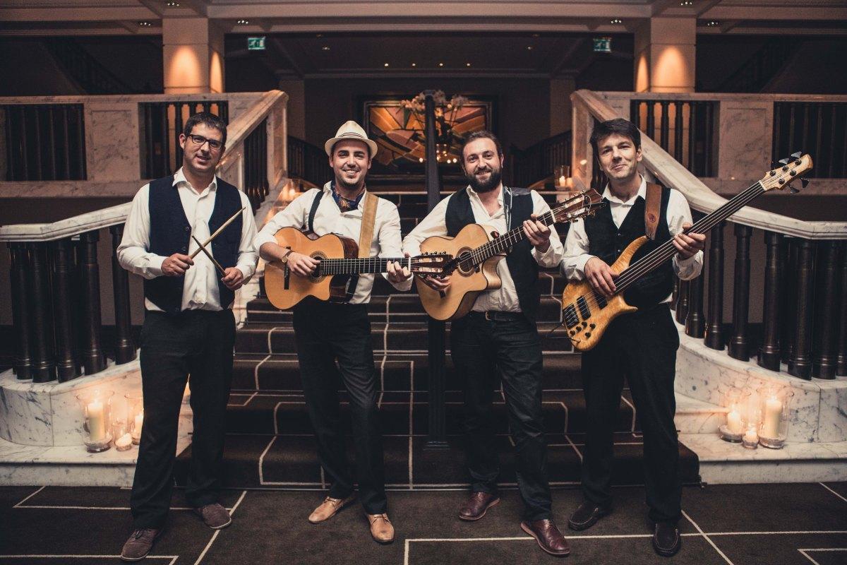 Amigos band, London, Spanish music, Gypsy Kings, wedding band