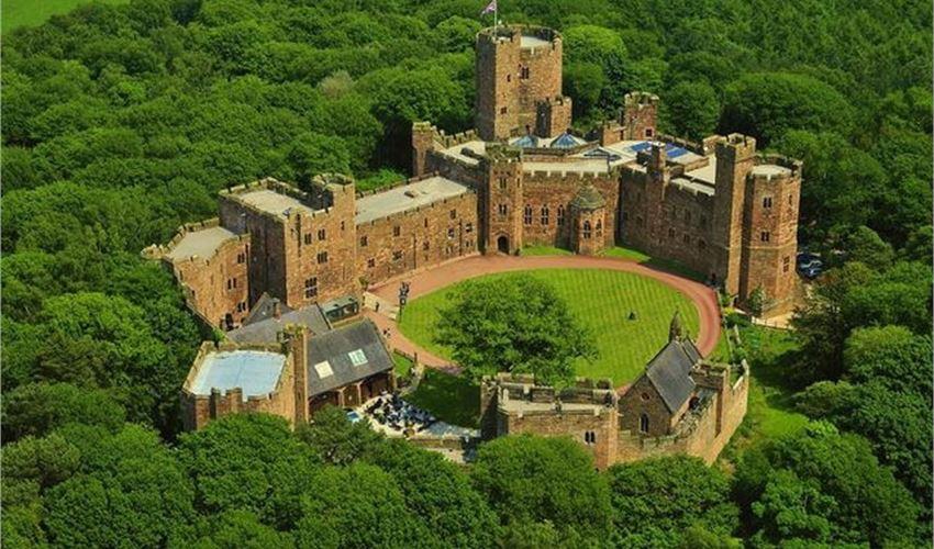 wedding venue, peckforton castle